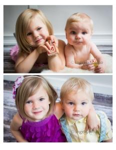 Etta & Archie (3 & 7mo, then 4 & 1)