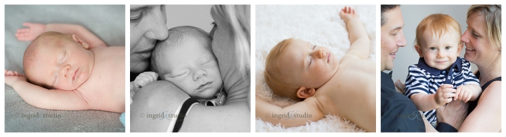 Maddox {newborn, then at 1 yr still sleeping with his arms overhead!}