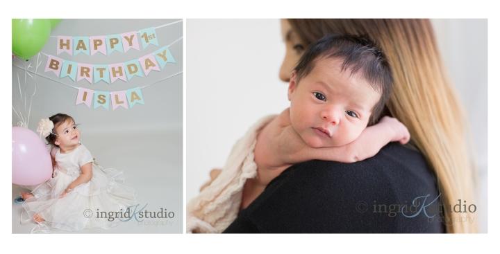 Baby Isla Newborn to 1st Birthday | Jersey City NJ FamilyPhotographer