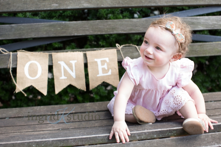 Isla's First Birthday Session, Then & Now | Jersey City NJ Baby & ChildPhotographer
