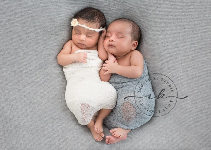 Yuvan & Nyra | Jersey City NJ Newborn Twins Photographer